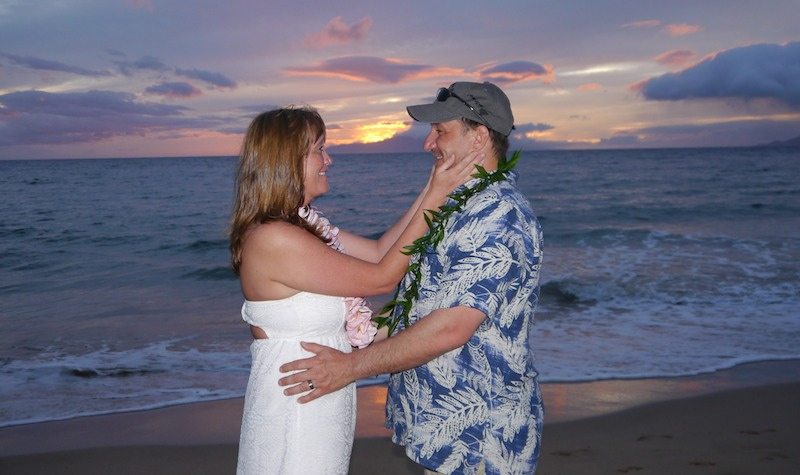 Sunset Wedding Ceremony | BigIslandceremonies.com
