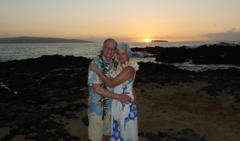 Sunset Vow Renewal Ceremony | BigIslandceremonies.com
