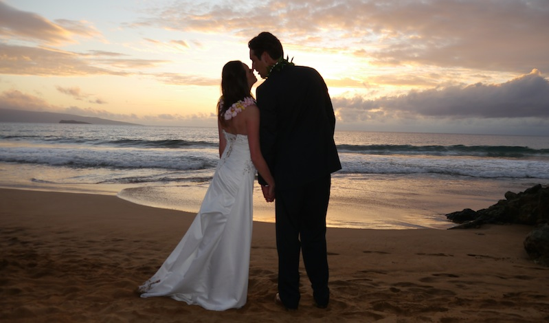 Big Island Sunset Beach Ceremony | BigIslandceremonies.com