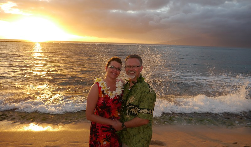 Sunset Wedding Big Island | BigIslandceremonies.com