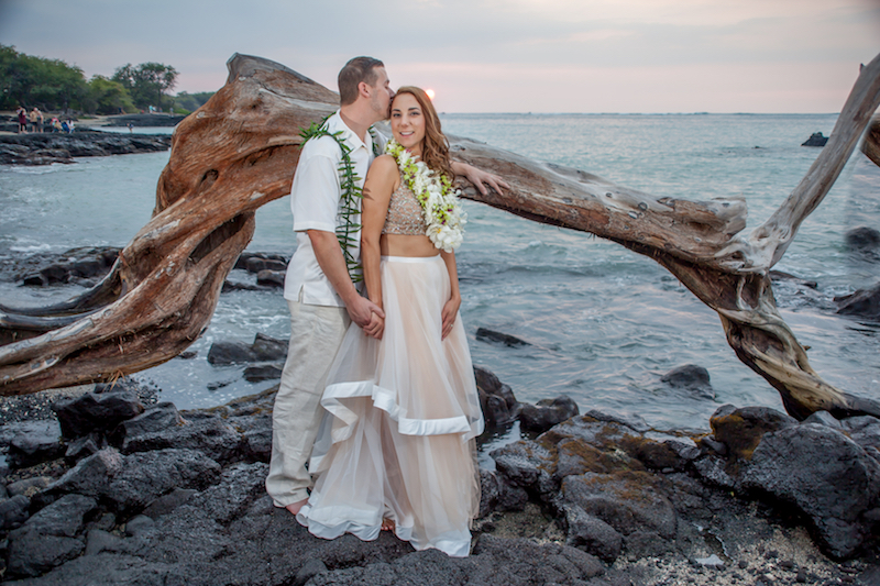 Sunset Vow Renewal Big Island
