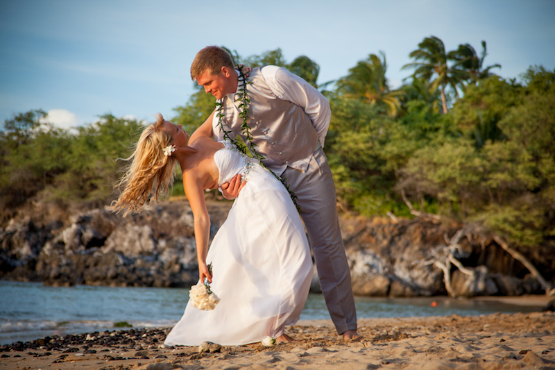 Big Island Black Sand Beach Wedding Ceremony | BigIslandceremonies.com